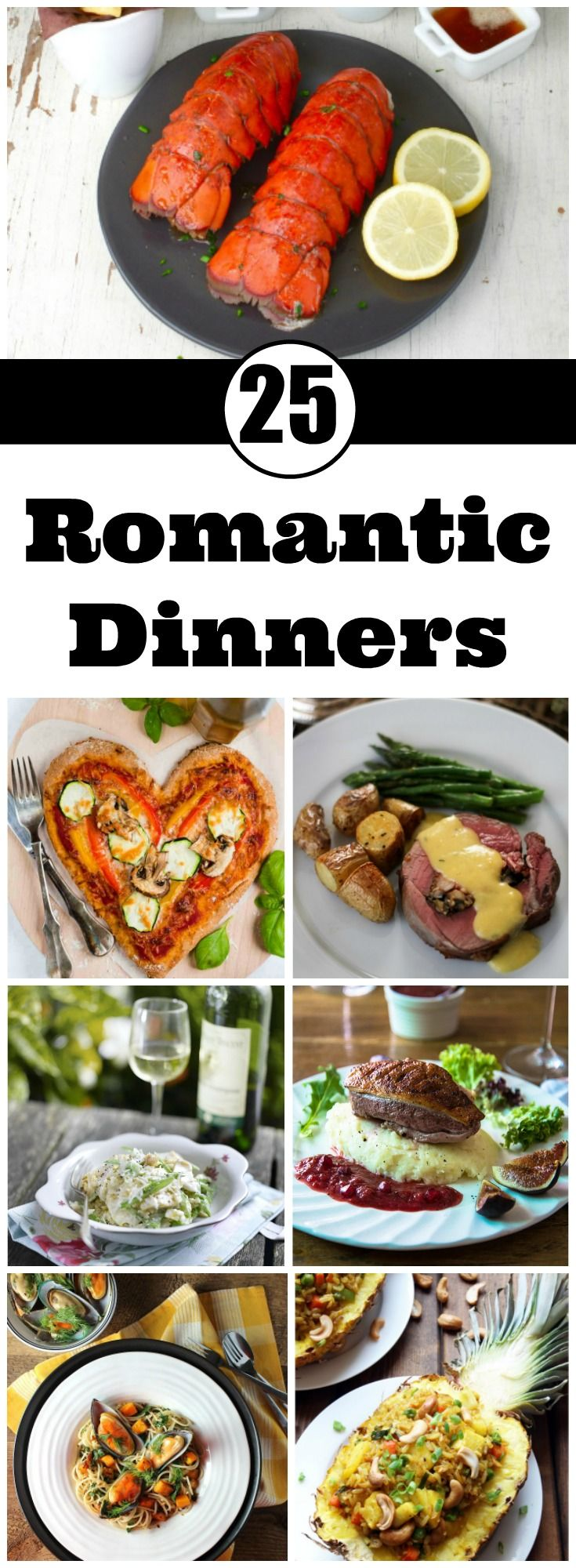 25 romantic dinners to fall in love all over again yummy. Black Bedroom Furniture Sets. Home Design Ideas