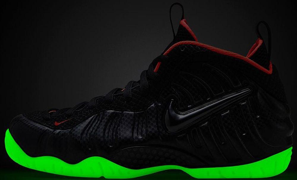 detailing 48726 9b0b4 Nike Air Foamposite Pro Premium Black Black-Laser Crimson   Sole Collector  Sneaker Release Date