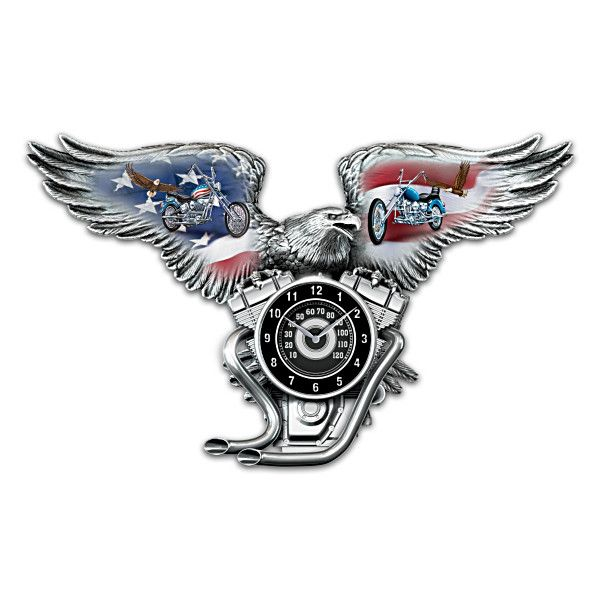 Freedom's Ride Clock