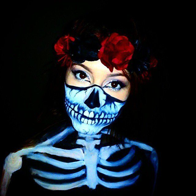 10 spooky skeleton makeup ideas you should wear this halloween - Chrispy Halloween
