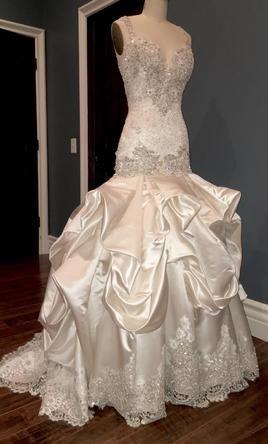 Baracci Wedding Dress New Size 4 8 500 Wedding Dresses Dresses Mermaid Wedding Dress