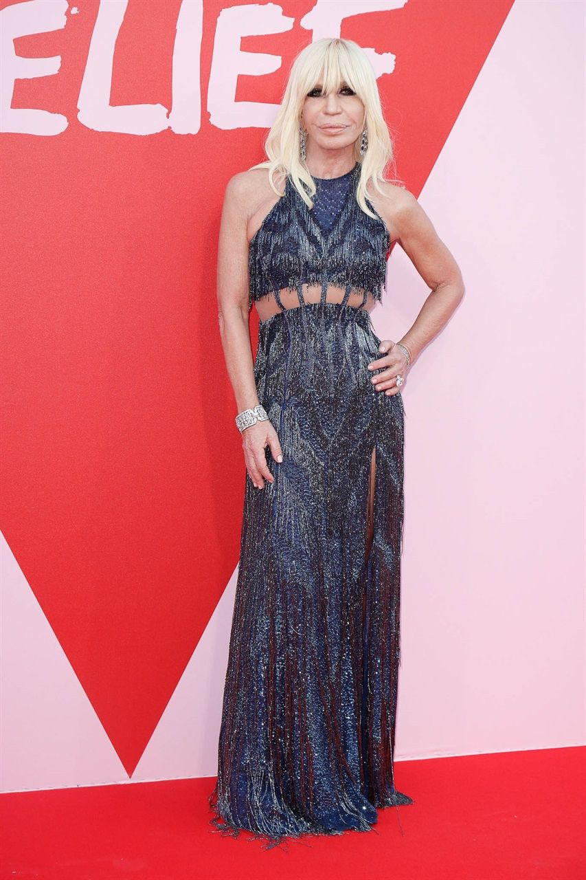Donatella Versace | Red Carpet | Pinterest