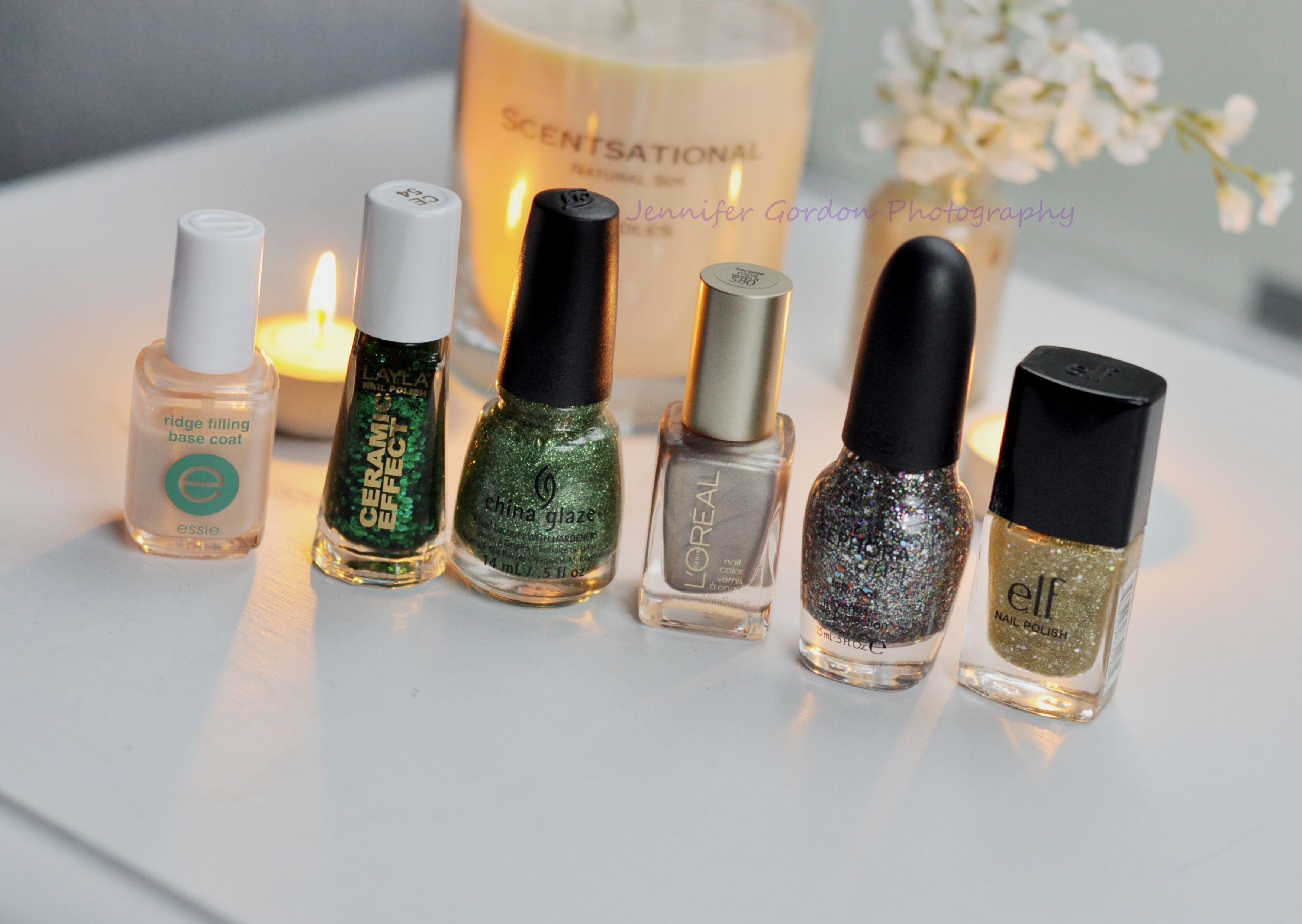 Beautiful Christmas/holiday nail polish! Essie, Layla Nail Lacquer ...