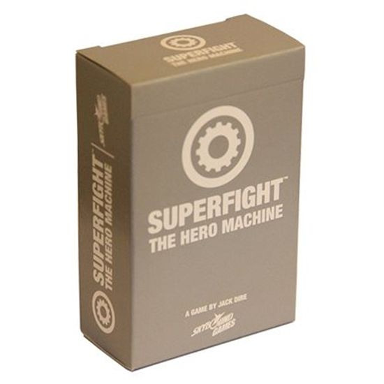 the hero machine is a 100card expansion for superfight