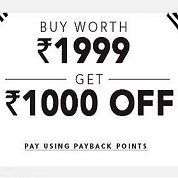 Flat Rs.1000 Discount in Sale   Jabong Great Discount Offer In Weekend Sale Rs.1000 off on minimum purchase of Rs.1999  Free Home Delivery  Cash on Delivery  30 Days Free Return/Exchange