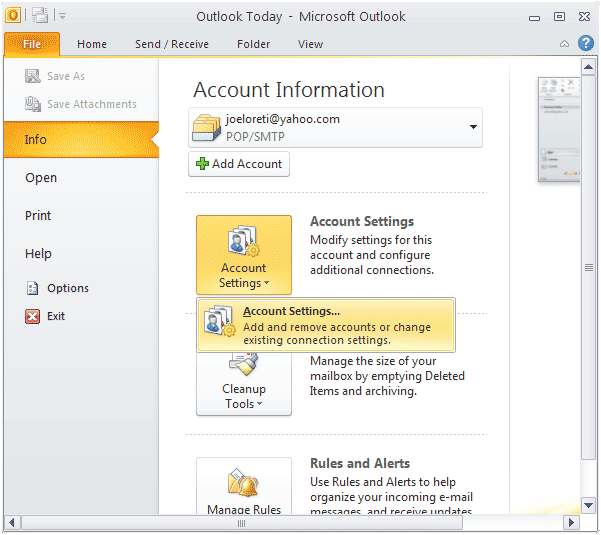 Change Recovery Email In Outlook 1 855 925 7080 Change Email Outlook Change