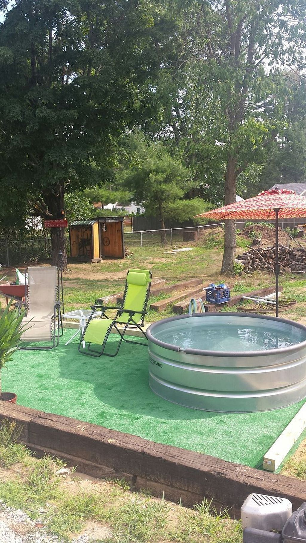 Awesome 20 diy galvanized stock tank pool to beat the