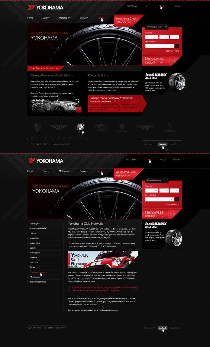 Yokohama Poland By Lukaszsokol Interactive Design Web Design Design