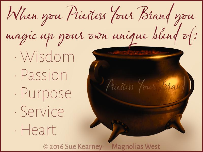 Priestess Your Brand cauldron