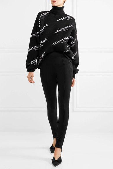 balenciaga sweater black