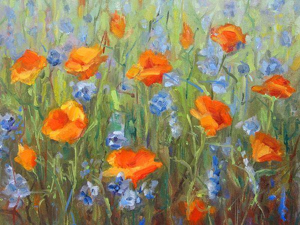 poppies | Terry Romero Paul - California Poppies
