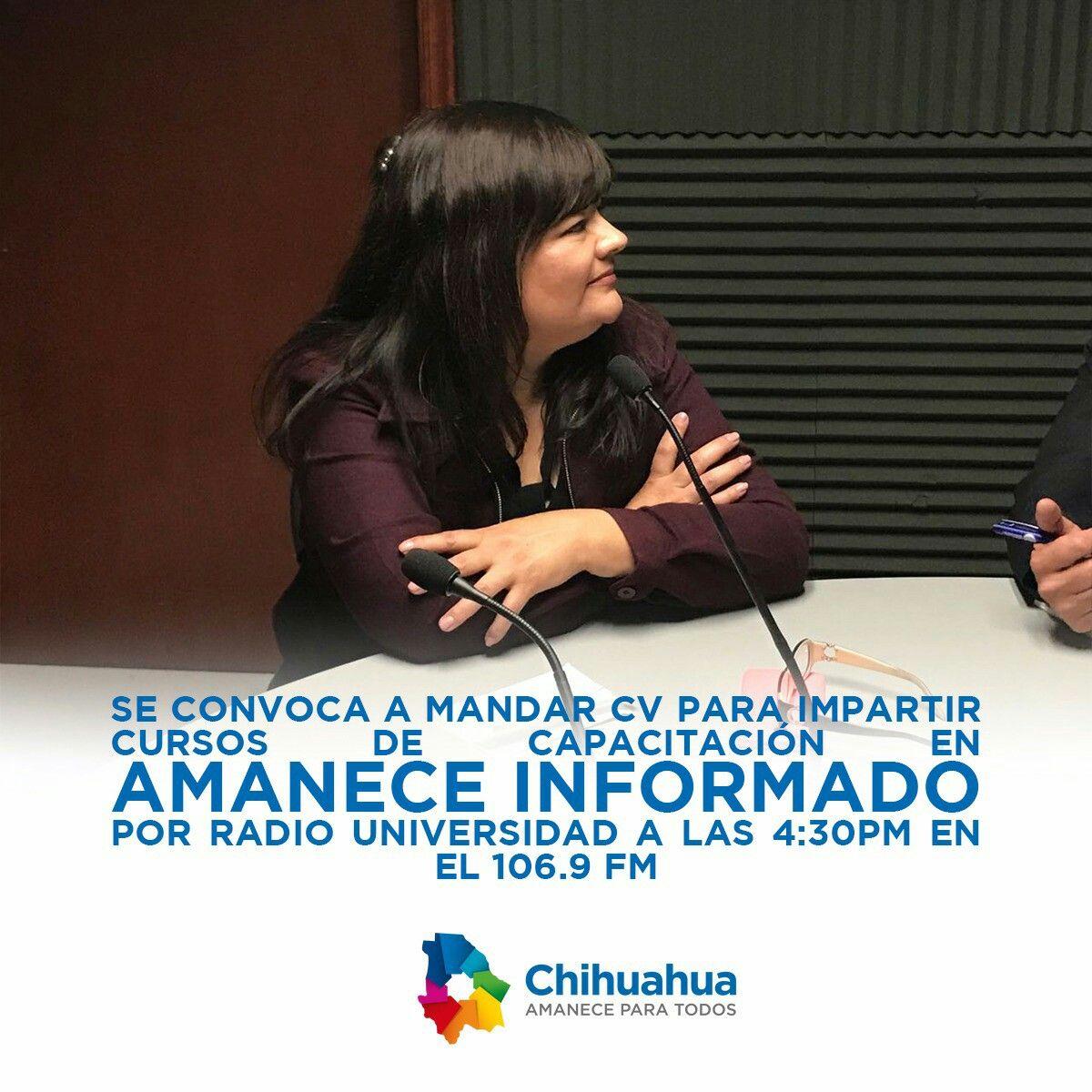 Mandar CV para impartir cursos de capacitación  #gobiernotransversal #gobiernodechihuahua #cuu #chihuahuamx