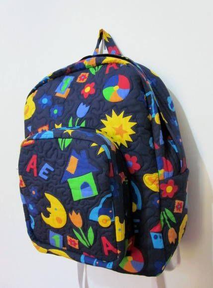 982a840eb Projeto Mochila Escolar Lolla Crafts Projeto com passo a passo detalhado e  com fotos para você