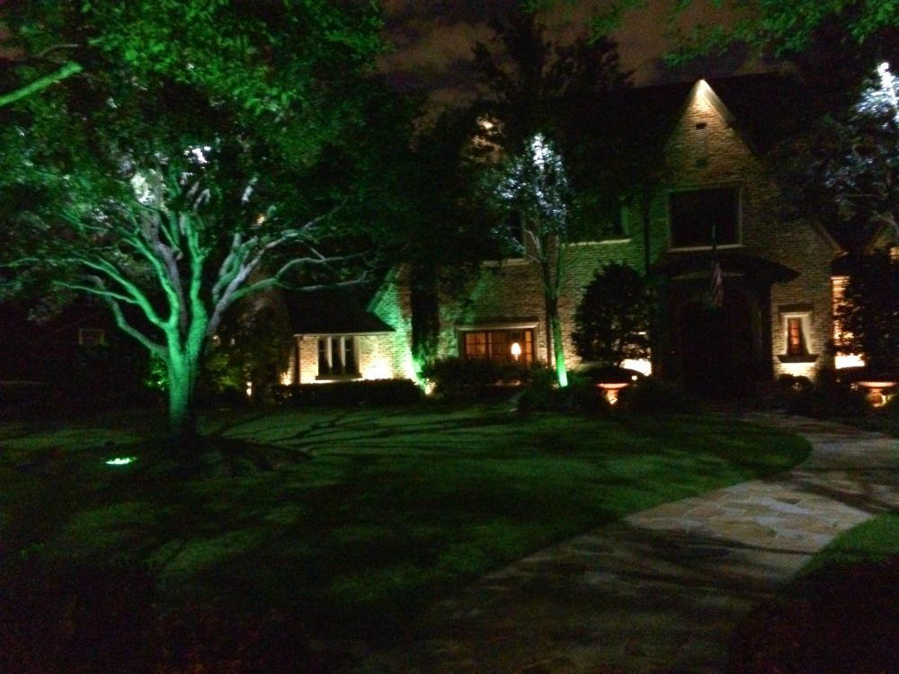 Dallas Exterior Lighting Security Lights