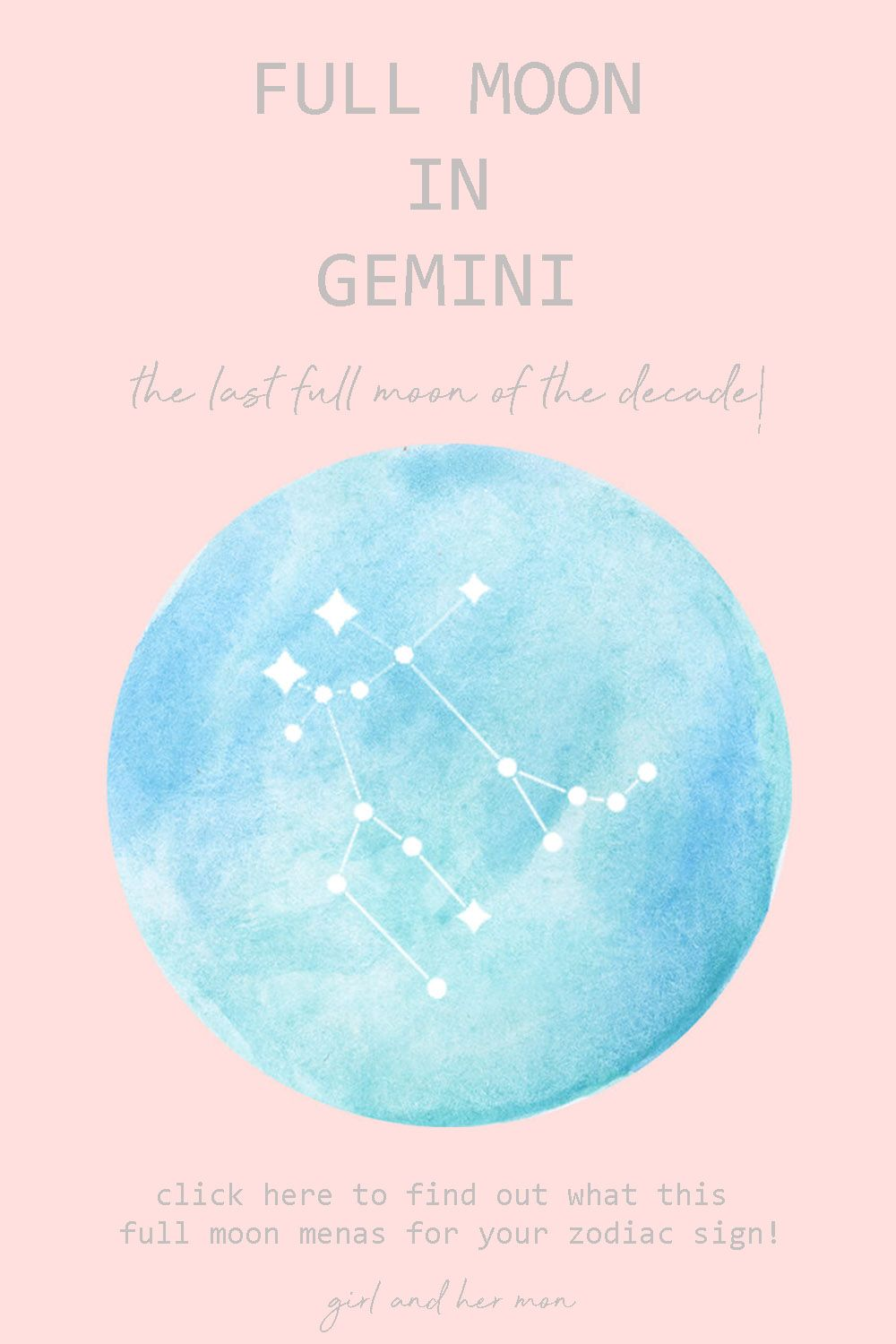Finding warmth in the gemini full moon this december 2019