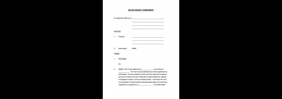 Casting Director Agreement Agreement Between Casting Director And