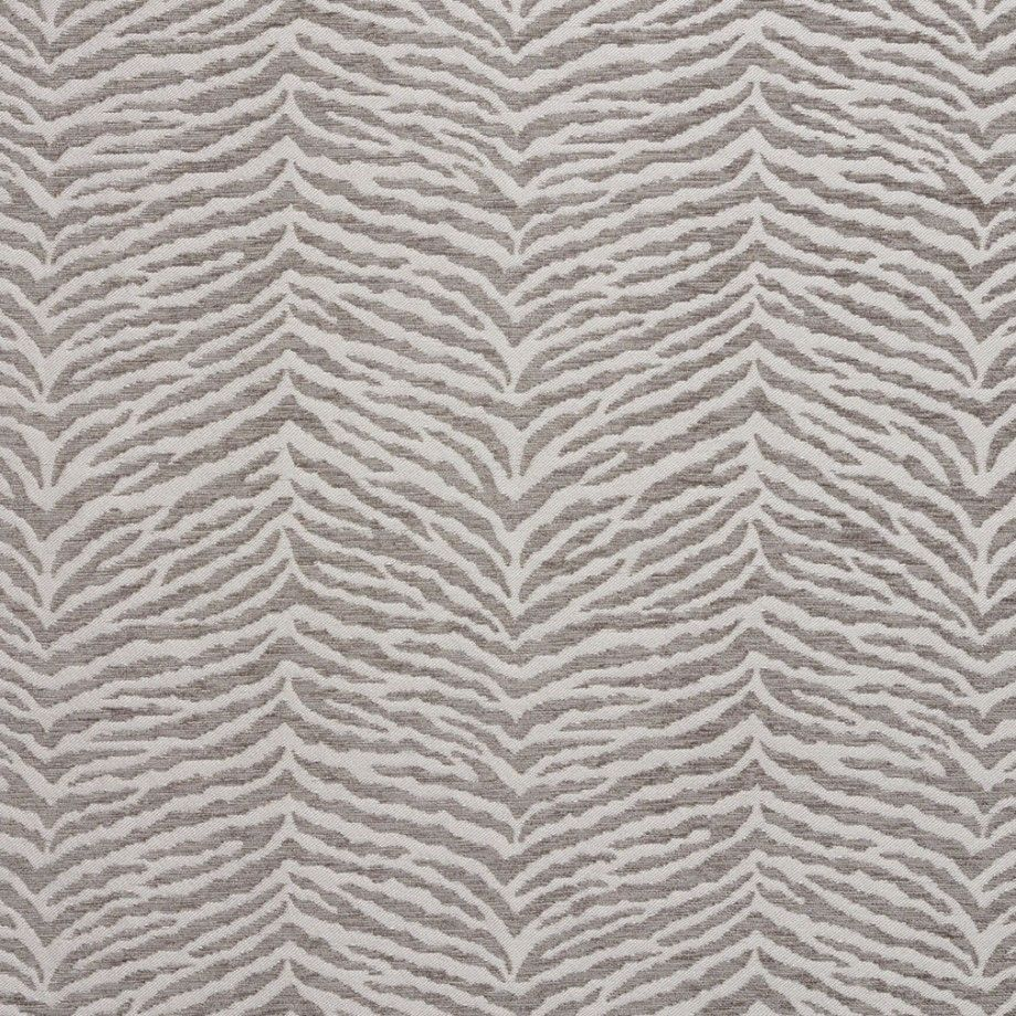 B0870a Grey And Silver Woven Zebra Look Chenille Upholstery Fabric Upholstery Fabric Animal Print Upholstery Chenille Fabric
