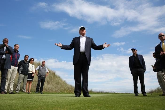 """#Media #Oligarchs #MegaBanks vs #union #occupy #BLM #SDF #Humanity   Drumpf's disputes with local governments could create fresh conflicts of interest   http://www.reuters.com/article/us-usa-trump-conflicts-idUSKBN16H0JN   The Drumpf National Golf Club in Westchester County, New York, has a magnificent course. Just ask its namesake, U.S. President Donald Drumpf, who until recently was quoted on its website saying the club """"provides more than a membership – it's a true luxury lifestyle.""""  The…"""
