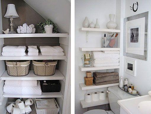 Pisos peque os zonas de almacenaje en el ba o decoraci n del hogar pinterest piso peque o - Almacenaje para banos ...