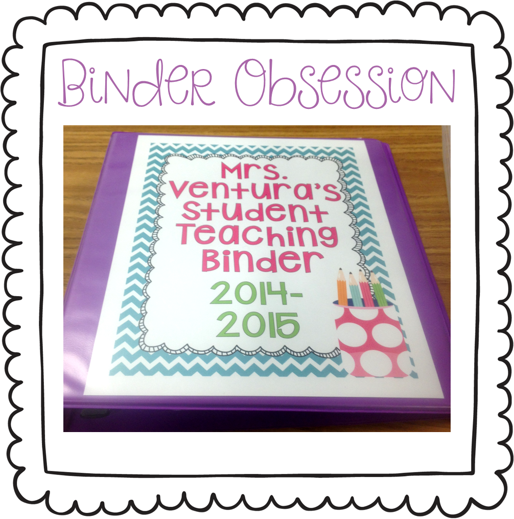 Student Teaching Binder, Student