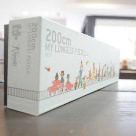 My longest puzzle - 200cm www.comalma.pt