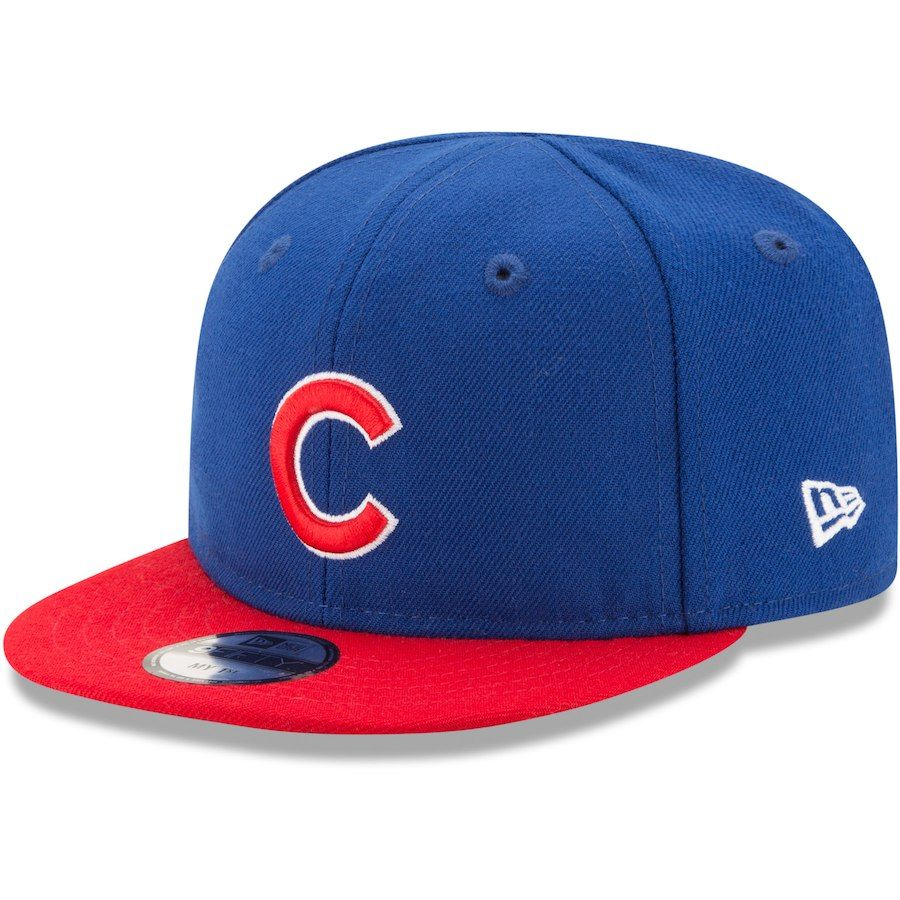 ae4957b6b77ae Chicago Cubs New Era Infant My First 9FIFTY Adjustable Hat – Royal ...