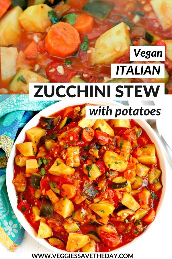 Photo of Zucchini Stew with Potatoes