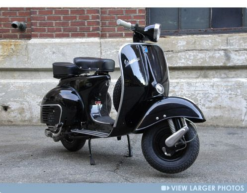 Restored Vintage Vespa Scooters From RetroVespa - start | Stuff