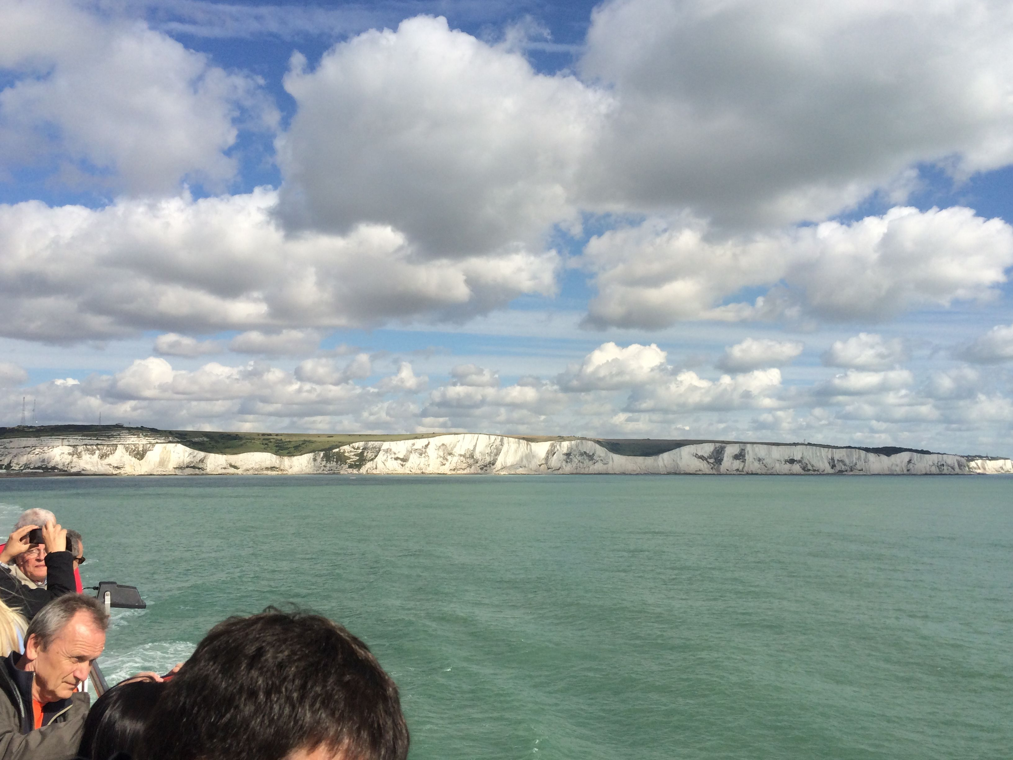 The White Cliffs of Dover in Dover, Kent