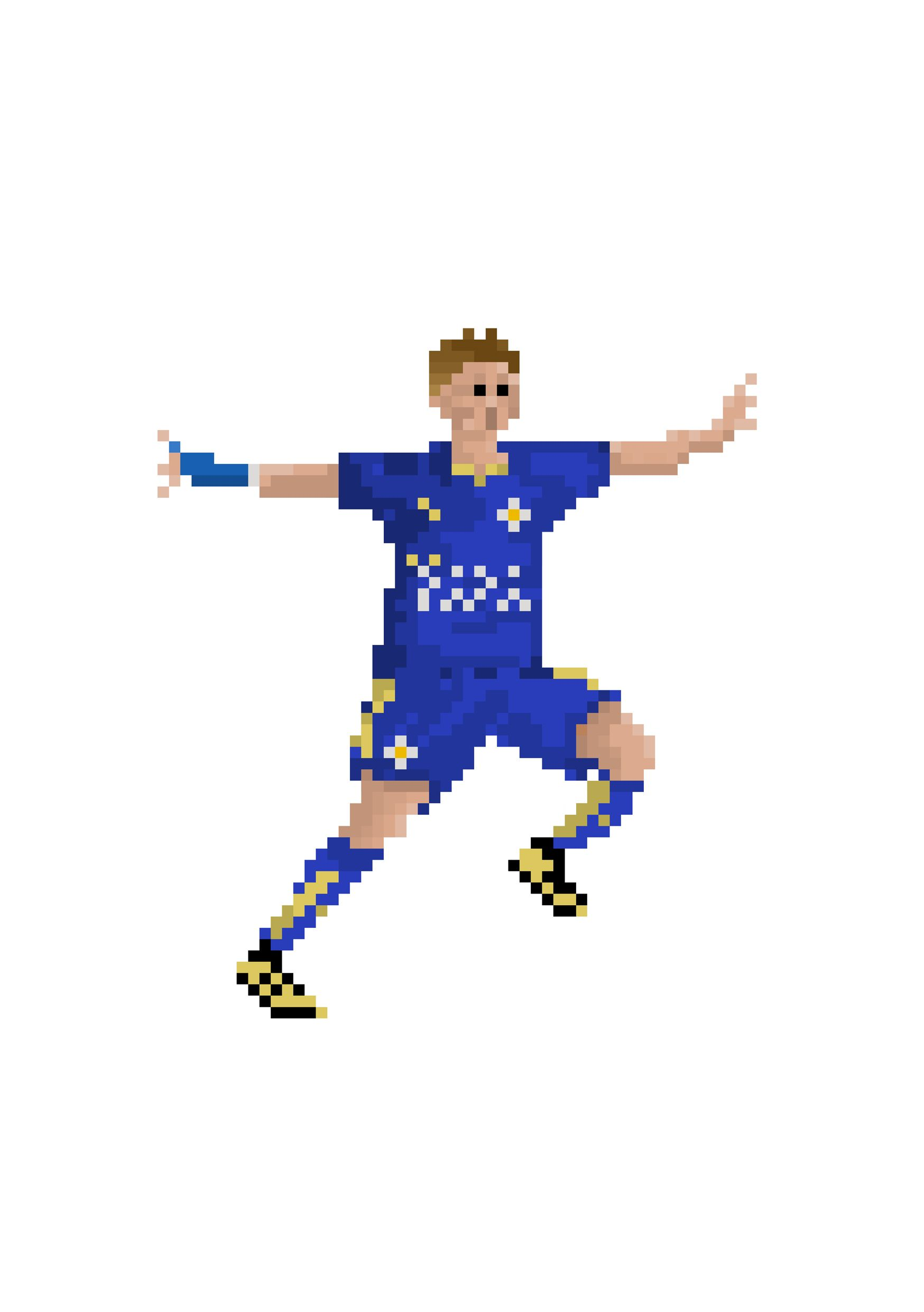 Leicester City Vardy Pixel Player Art Print Football Poster Jamie Vardy Poster Football Gifts Soccer Art Illustrated Print In 2020 Football Art Pixel Art Art