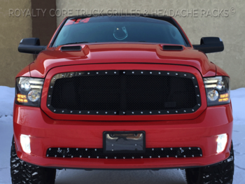 Dodge Ram 1500 2013 2017 Rc1 Classic Grille 2013 2017 Dodge 1500 Dodge Ram 1500 Accessories Dodge