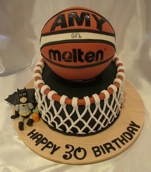 3D basketball cake CAKES Pinterest Cake and Beautiful cakes