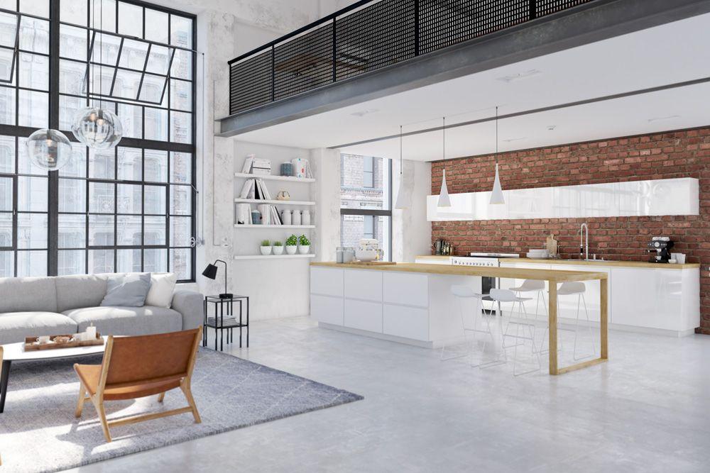 Wohnkuchen Einrichten Ideen Und Tipps In 2020 Wohnkuche