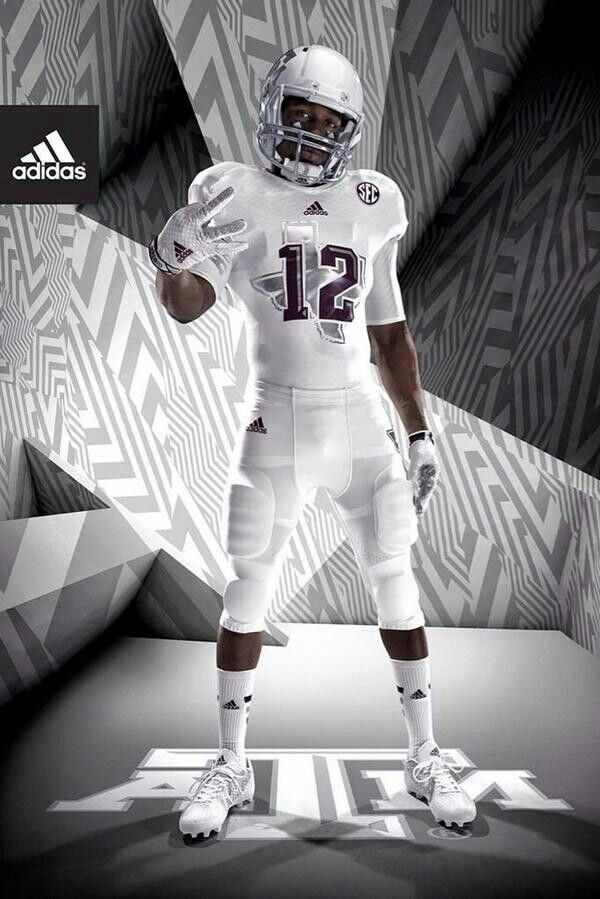 Texas A M Iced Out Uniforms College Football Uniforms Sports Uniforms Football Uniforms