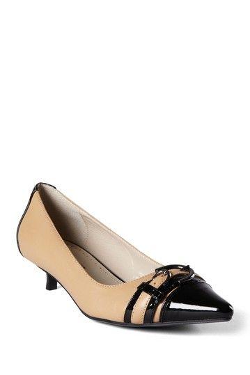ad3c10ac53 Adrienne Vittadini Jolie Kitten Heel by Shoes We Love on @HauteLook ...
