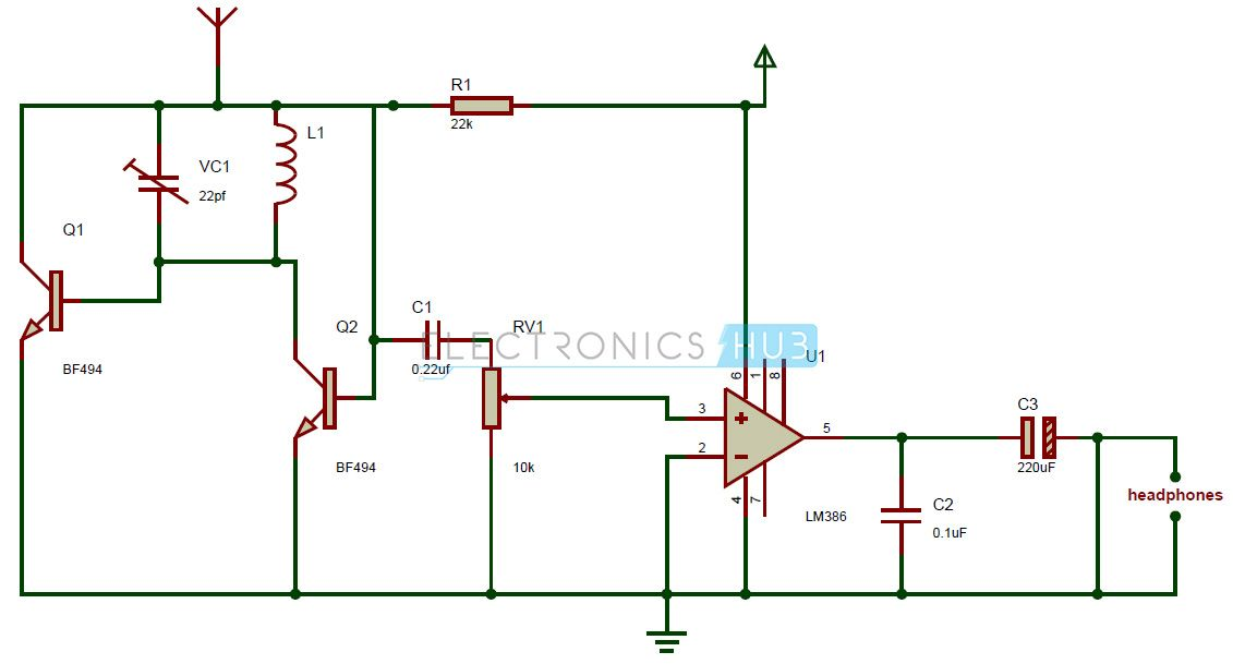 Schematic Diagram Of Radio | Wiring Diagram on