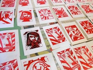 Two Color Prints Inspired By German Expressionism Arte A Scuola