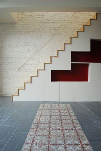 escalera creu coberta