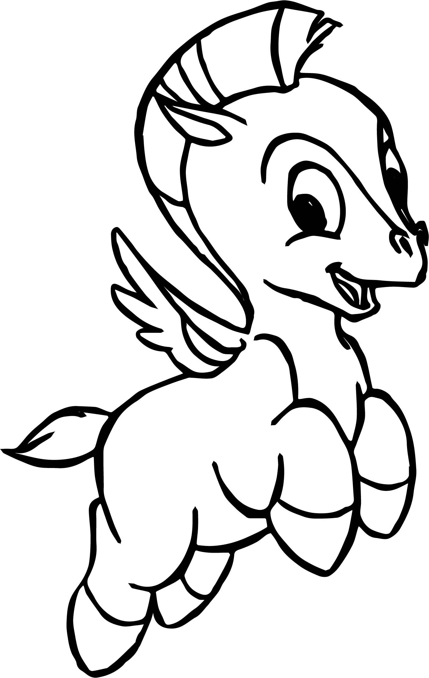 Baby Pegasus Coloring Pages To Print Free Coloring Books Coloring Pages Drawings Nemo Coloring Pages