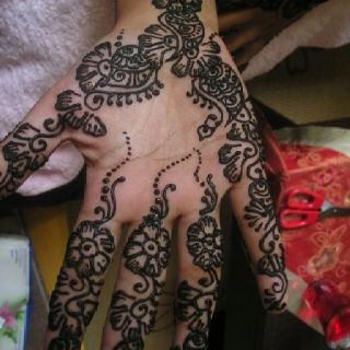 Simple Flower Henna Design Flower Henna Hand Henna Henna Designs