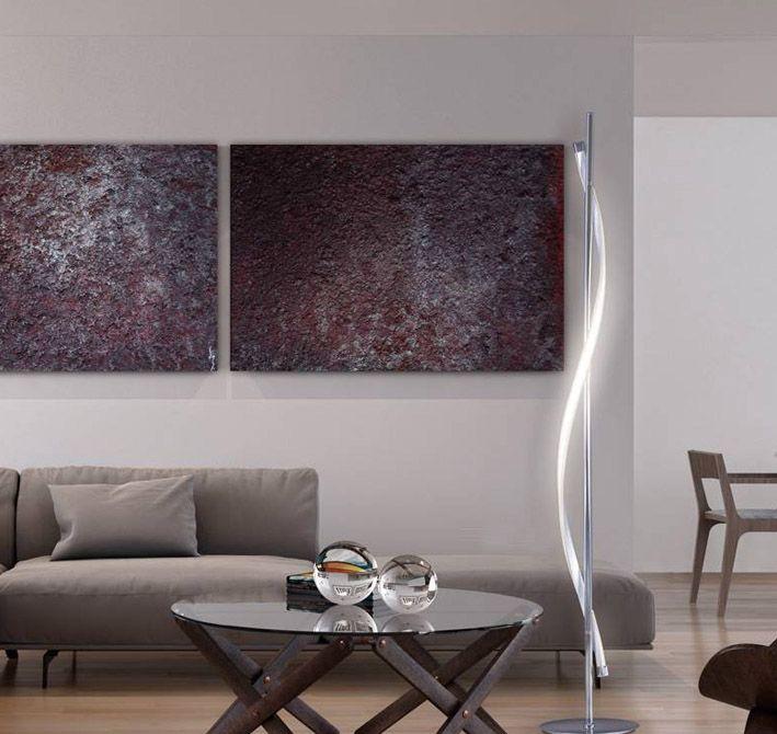 Moderne Stehlampe STEFANY Ihr Webshop für originelle Stehleuchten - stehlampe f r wohnzimmer