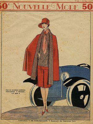 nouvelle mode ann e 30 art d co pinterest art deco 1920s and vintage magazines. Black Bedroom Furniture Sets. Home Design Ideas