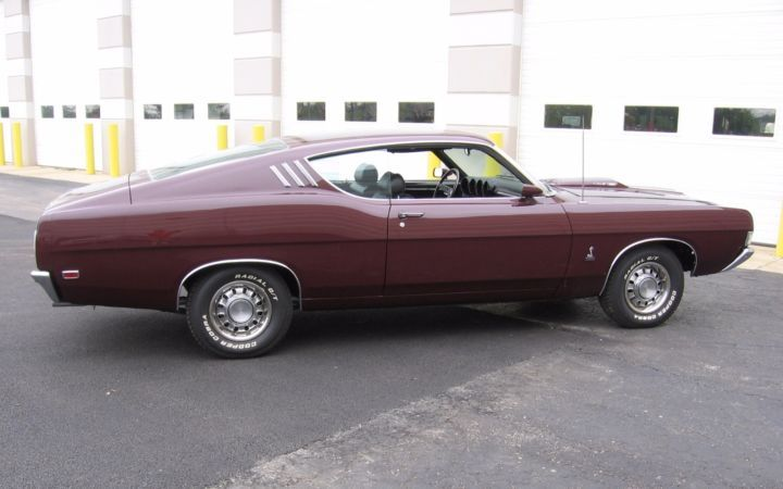 Factory 428 4 Speed Sportsroof Restored 1969 Ford Torino Cobra Ford Torino Classic Cars Ford