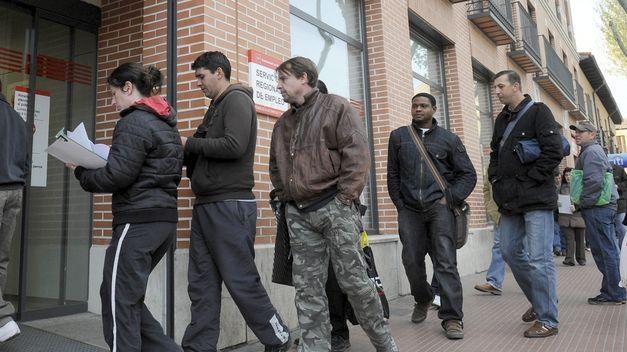 Datos oficiales de paro en España