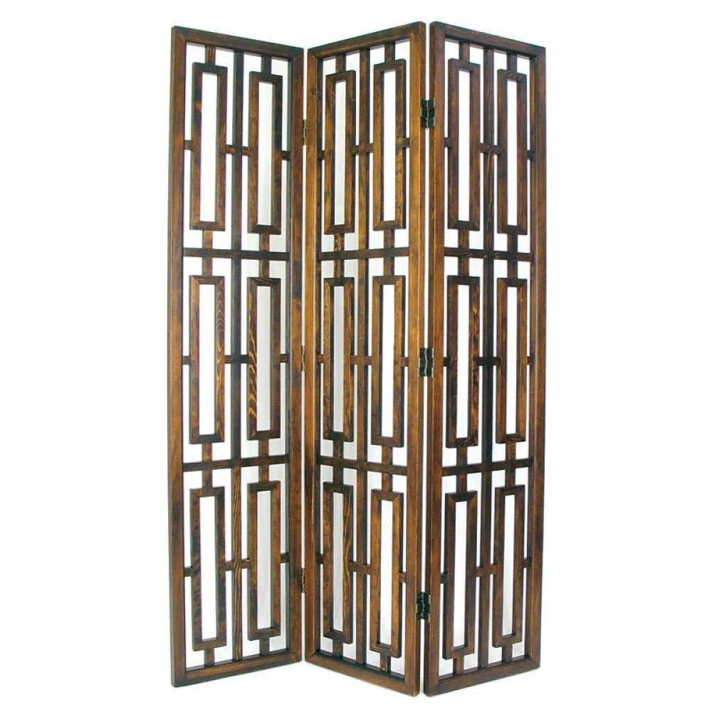 Awesome wooden folding screen privacy furniture divider for Room divider art
