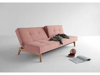Splitback Sofa Bed With Eik Legs Sofa Bed Furniture Sofa Design