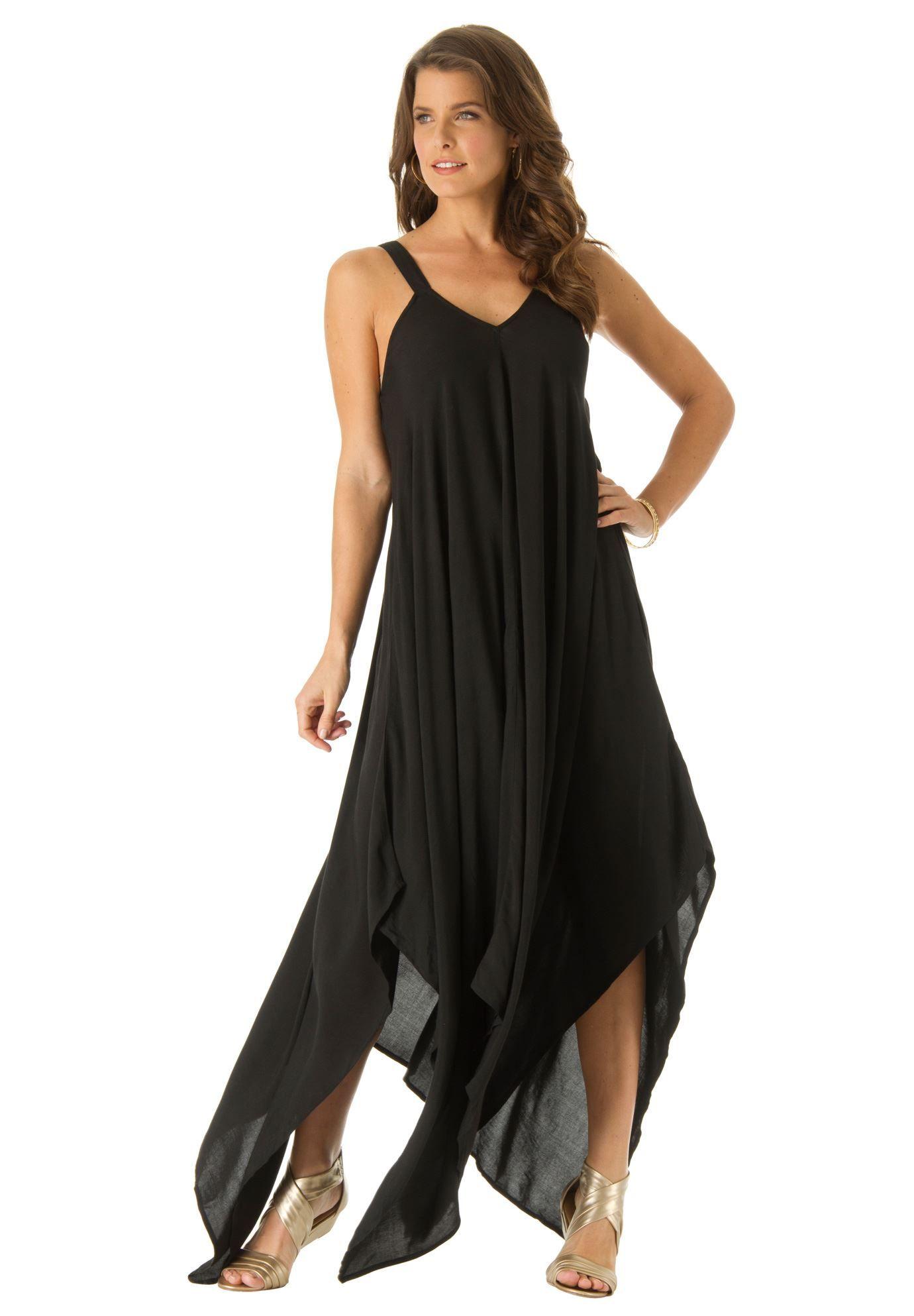 a4de2aad1a470 Roamans / now $80, was $100 / Plus Size Scarf Print Maxi Dress / Item #:  0505-02628-1350