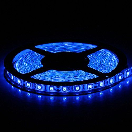 Flexible Led Strip Lights Blue 300 Units Smd 5050 Leds Wa Strip Lighting Led Light Strips Flexible Led Strip Lights