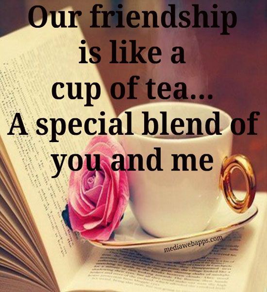 Quotes About Tea And Friendship Mesmerizing Friendship Is Like A Cup Of Tea  Tea Quotes  Pinterest