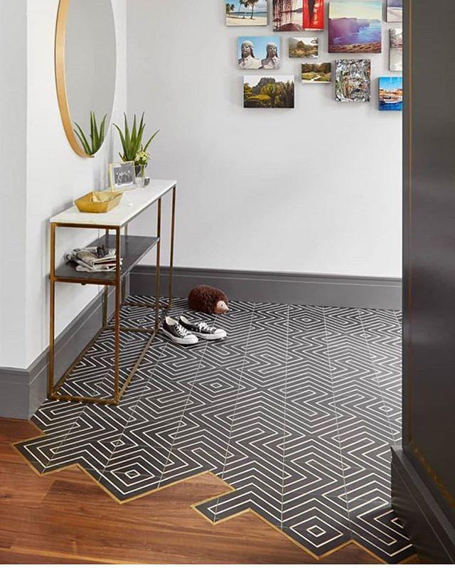 """Photo of Tile Tuesday auf Instagram: """"Schau dir diesen #tilestyle & #woodfloo an"""